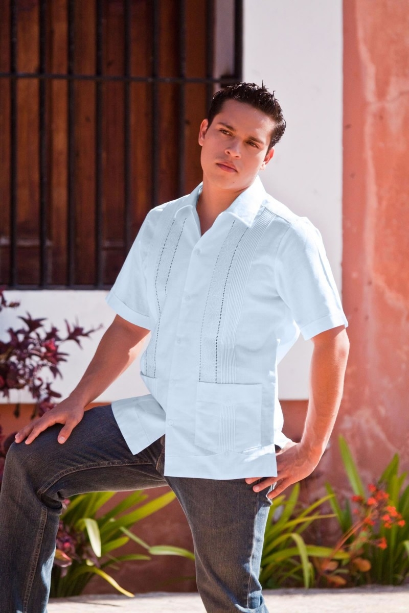 71df3a9c57 Guayabera Yucateca. Francisco Lino Español  950. jpeg-2. Previous. jpeg