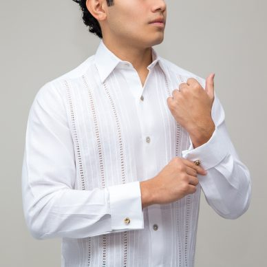 Guayabera Yucateca Manga Larga