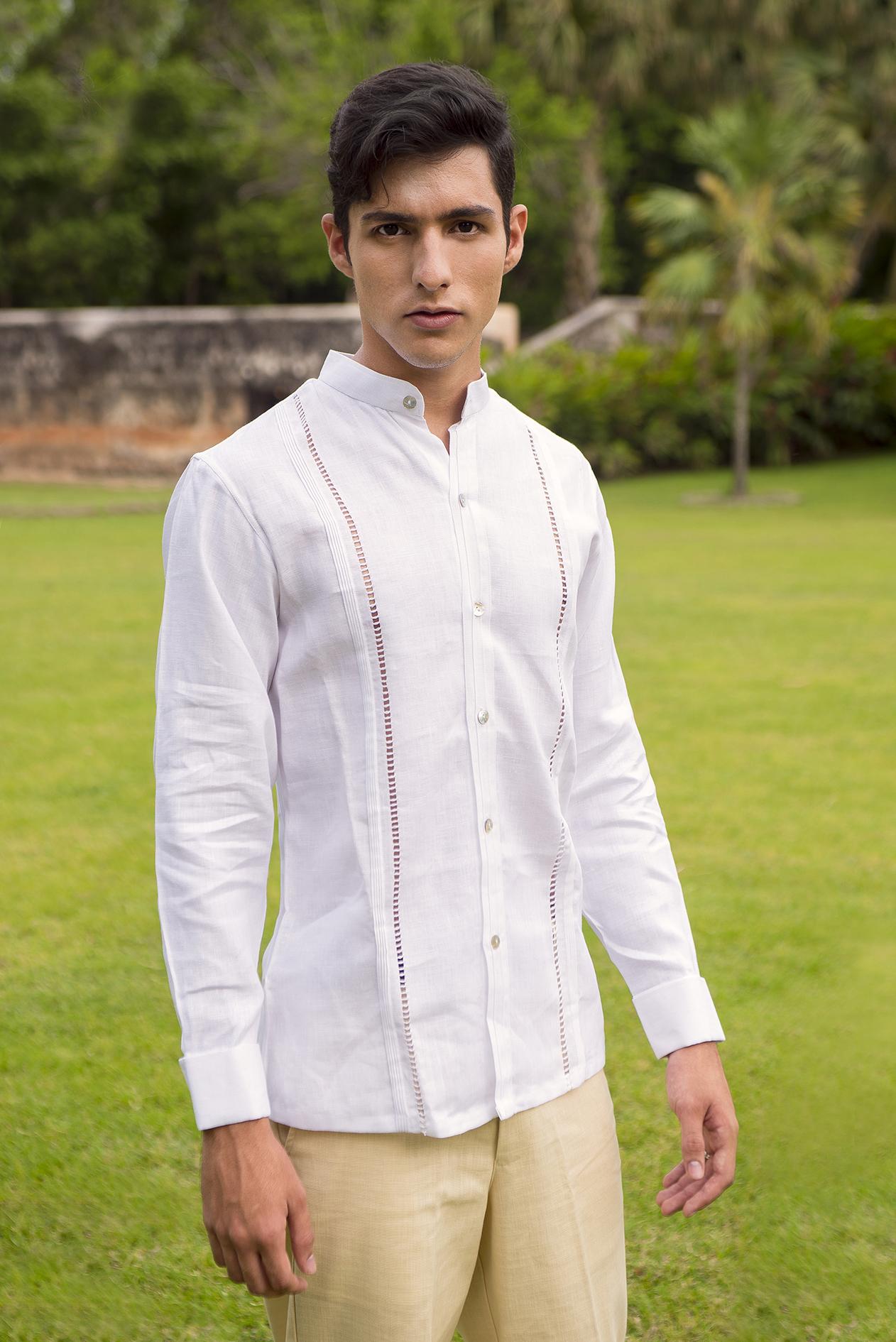 muchos de moda estilo limitado gran variedad de estilos Filipina Adán 100% Lino Italiano