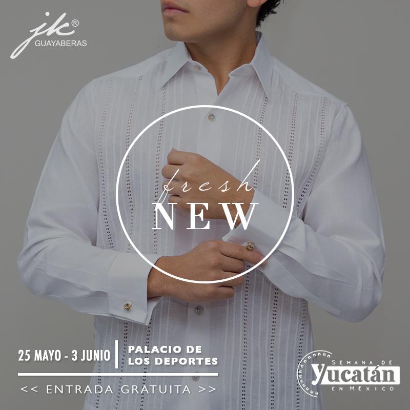 JK Guayaberas lanza nuevos modelos en la Semana de Yucatán en México 2018