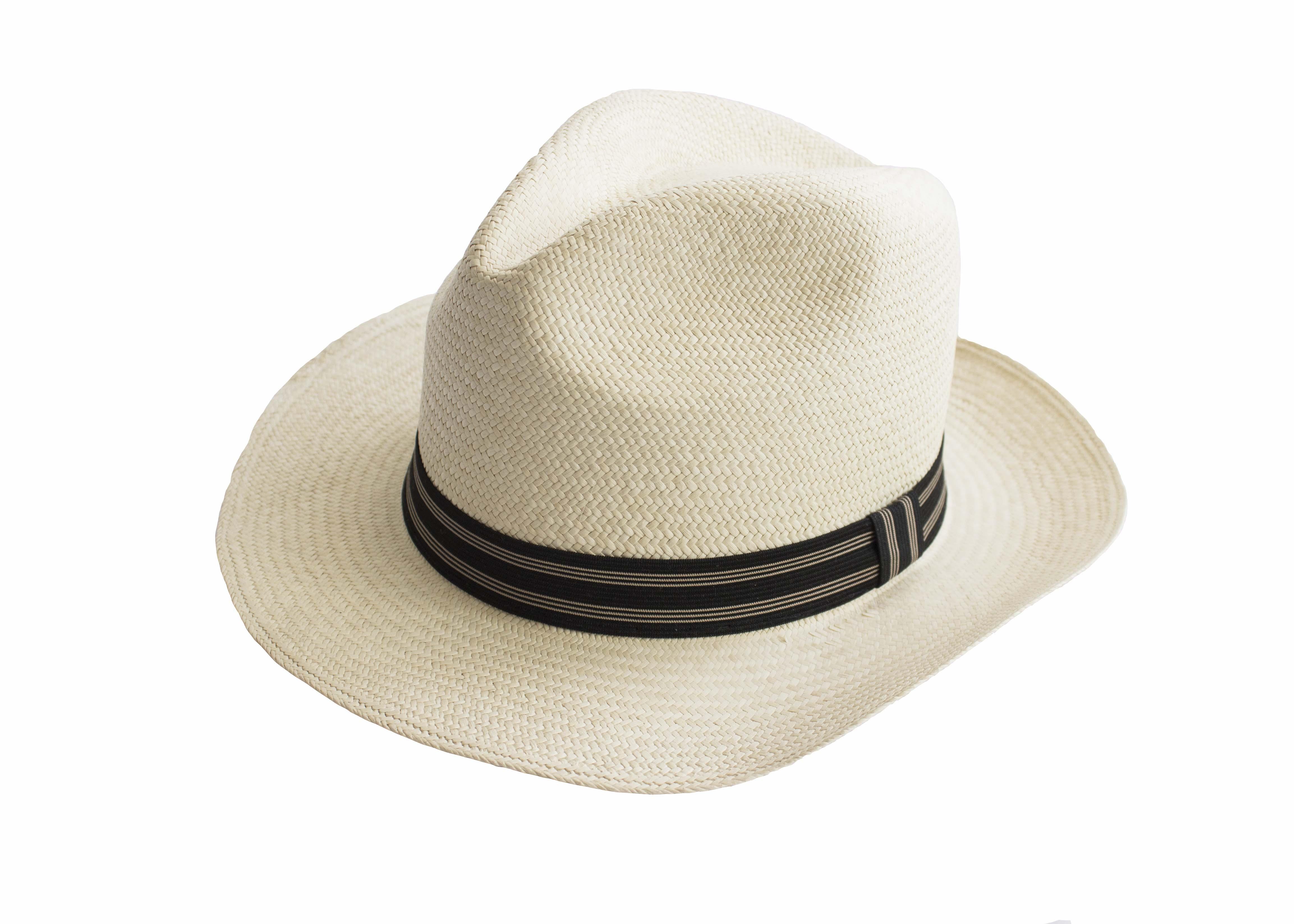 Sombrero de Jipi Modelo Catrín tipo Panamá Tejido a Mano - JK Guayaberas
