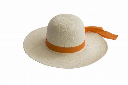 Sombrero flexible tejido a mano