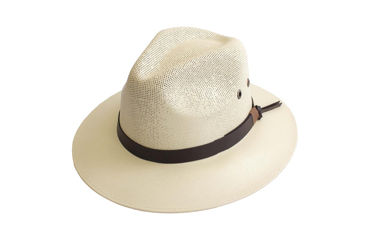 Sombrero tipo Panamá de color Beige - JK Guayaberas