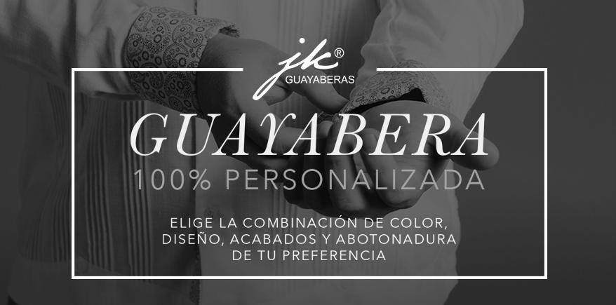 ¿Quieres una guayabera personalizada?
